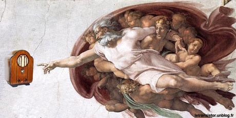 Et le septième jour, Dieu créa la radio (3) dans Amusant dieu-creation-radio_michelange