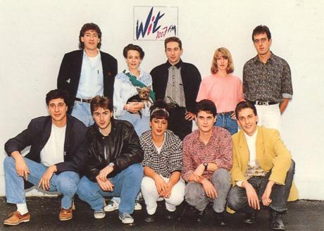 witfm_equipe-animateurs_saison1989-1990 dans Archives
