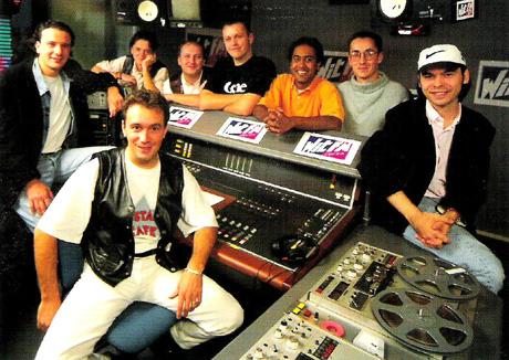 witfm_equipe-animateurs_saison1995-1996 dans Habillage