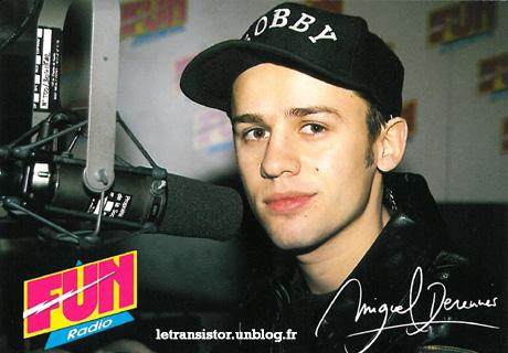 Un portrait de groupe de l'équipe d'animation de Fun Radio en 1993 dans Animateurs letransistor_funradio_photo-miguelderennes_1993